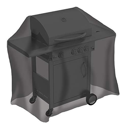 Tepro Universal Grillabdeckhaube 8104 für Gasgrill, mittel, schwarz, 65 x 130 x 100 cm | passend für 3125, 3134, 3135, 3135H, 3136, 3145N, 3147, 3152, 3154, 3160, 3161, 3162, 3164, 3165, 3166, 3168