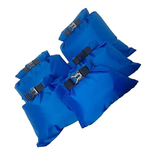 Ruiqas 5 piezas impermeable bolsa seca Set bolsas de almacenamiento impermeables para natación, kayak, pesca, ciclismo, esquí