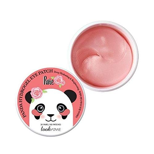 Look at me - Panda Hydro-gel Eye Patches Snail, Parches Antiojeras Con Baba De Caracol, 60pcs