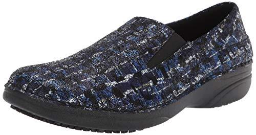 Spring Step Women's Manila-ICE Uniform Dress Shoe, Blue Multi, 6.5