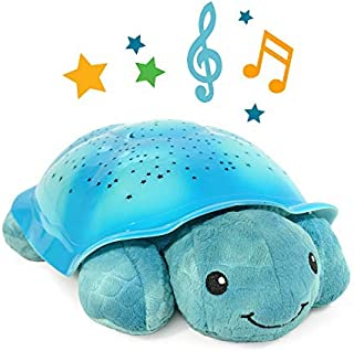 Best Night Light Star Projector with Soothing Melodies, Twinkling Twilight Turtle - Aqua Review