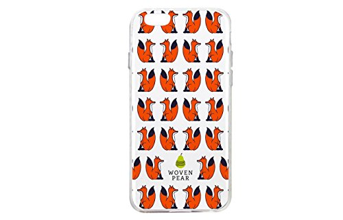 Woven Pear iPhone 7 Phone Case - Foxy Lady