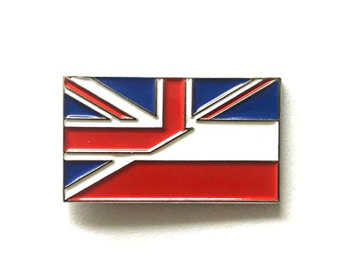 Matfords Union Jack & Netherlands - Insignia de la amistad con la bandera británica