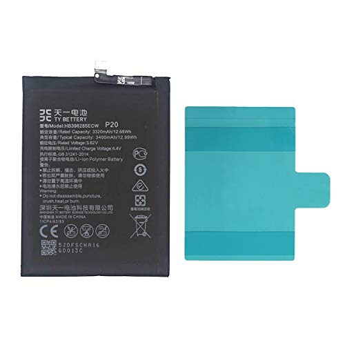 [TY BETTERY] Bateria Compatible con HB396285ECW Huawei Honor 10/P20/P Smart 2019