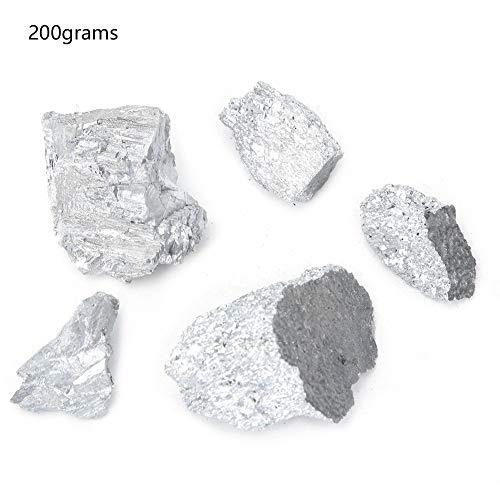 Antimon- Metall - Labormaterial 99,99% High Purity Antimon Sb Metallelement Lumps Block-Probe (200 g)