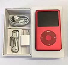 Original Appleipod Compatible for mp3 mp4 Player Apple iPod red U2 1TB (1000 Gigabyte) Classic 7th Gen