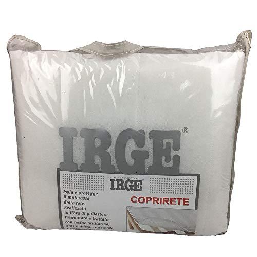 IRGE coprirete trapuntato con laccetti singolo una piazza 2 pezzi H224