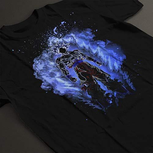 Soul of UI Goku Dragon Ball Z Men's T-Shirt Black