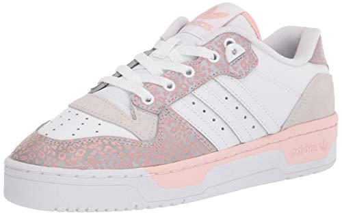 adidas Originals Women's Rivalry Low Sneaker, White/Vapour Pink/Grey, 11