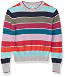 Splendid Girls' Kids' Long Sleeve Sweater, Multi Stripe, 3T