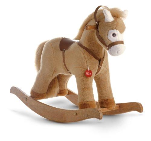 Trudi 29703 - Cavallo a dondolo, colore: Beige
