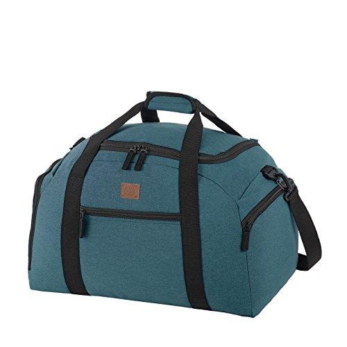 Rada Reisetasche Discover M 40 Liter Volumen, Wasserabweisende Sporttasche für Jungen und Mädchen, Reisetasche perfekt für den Kurzurlaub für Damen und Herren (Maße: 30,5x29,5x50cm) (Petrol)