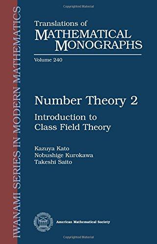 Kato, K:  Number Theory 2 (Translations of Mathematical Monographs)