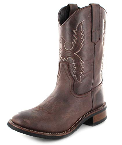 Sendra Boots Damen Stiefel 11615 Chocolate Westernreitstiefel Braun 38 EU