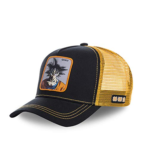 Capslab - Gorra Trucker para niño Dragon Ball Z