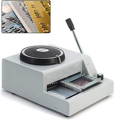SUSEMSE 72 caratteri goffratura macchina, carta manuale Embosser, Stamping codice stampante per PVC/Credito/ID/VIP/Membership Gift Card