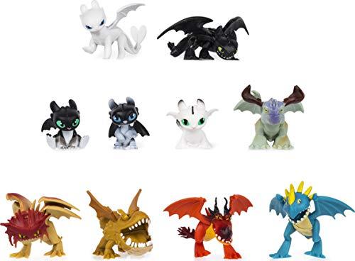 Dragons, 6055950 Mystery Dragons Multipack, 10 Stück