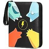zeerliki Compatible Card Binder Case,4-Pocket Trading...