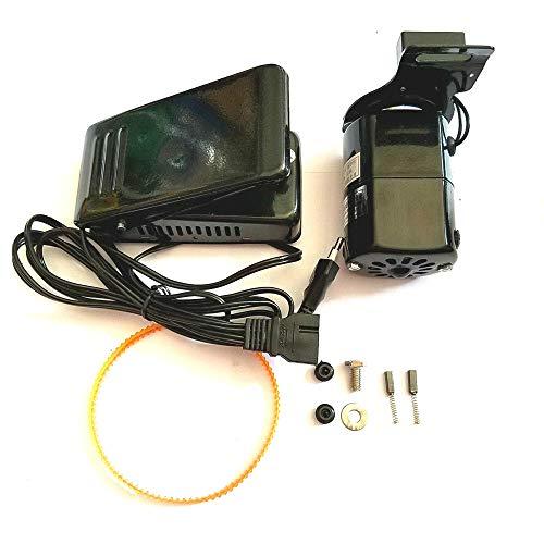 RETYLY 1 Unidades Negro 1.0 mps Universal MáQuina de Coser para el Hogar Motor Pedal Controlador 100W EU Plug