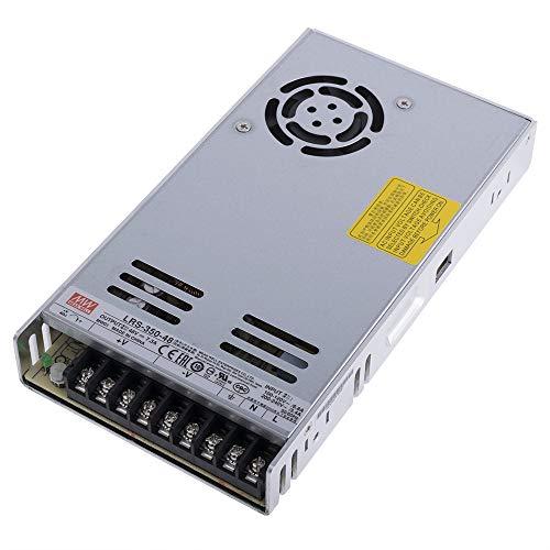 Mean Well LRS-350-48 Netzteil 350W 48V Ultraflach 30mm 1HU Einbau-Metallgehäuse