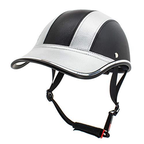 FROFILE Bike Helmet Adults-Cycling-Bicycle Baseball-Helmet - (Silver) Adjustable Camping Safe Mountain Bike Helmet for Men Women Teen