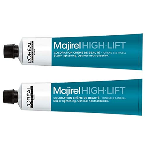 Loreal Majirel High Lift HL Ash+ 2 x 50 ml Haarfarbe LP Coloration Asch Intensive