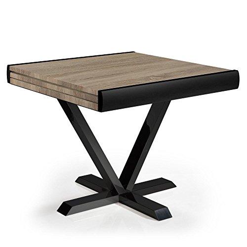 Menzzo Newick Table, M.D.F, Chêne Clair, 90 x 180 cm
