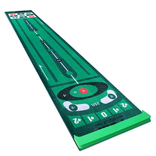 GOLF en casa Putting Green Manta De Práctica 0,6 * 3m Regalos Hombres Alfombrilla Verde para Exteriores E Interiores para Mejorar Las Habilidades De Putt