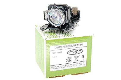 Alda PQ-Premium, Lámpara de proyector Compatible con DT00841 para HITACHI CP-X200, CP-X205, CP-X300, CP-X305, CP-X308, CP-X400, CP-X417, X200, X205, ED-X30 Proyectores, lámpara con Carcasa