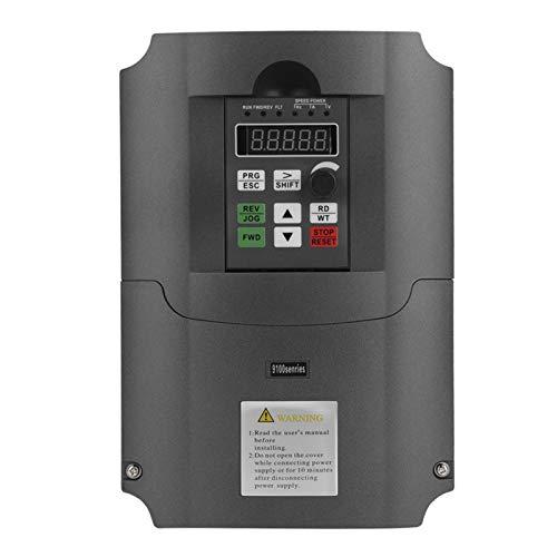 Unidad de frecuencia variable NFLIXIN, entrada monofásica de 220 VCA, salida trifásica de 30 VCA, 7,5 kW