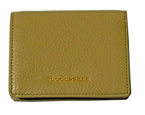 Portemonnee Coccinelle metallic soft mini E2EW5172001 W46 Camel