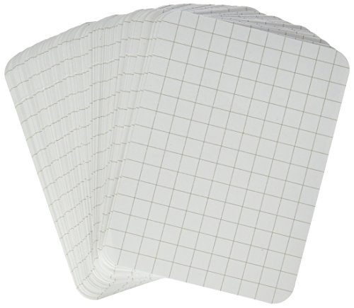 Project Life 380070 Cards Accessories-3 x 4-Grid-Double-Sided-White (100 Pieces)
