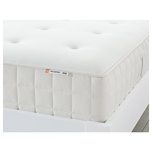 IKEA HYLLESTAD Taschenfederkernmatratze 180x200 cm fest/weiß