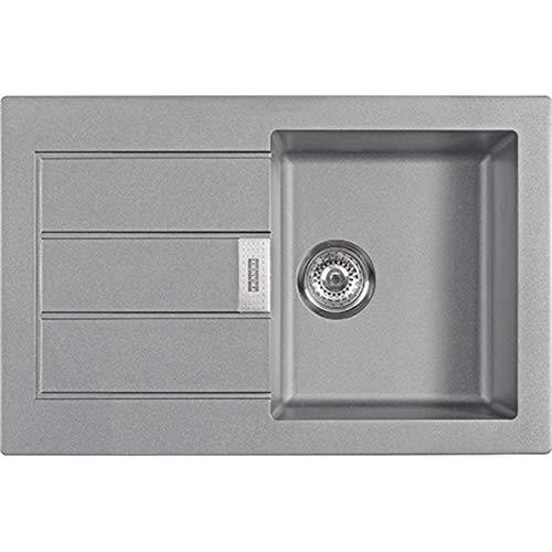 Franke 114.0476.404 SID 611-78 - Fregadero de cocina (granito), color gris
