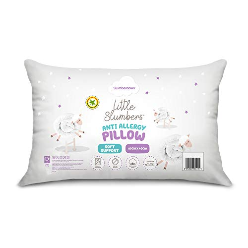 Roma Anti Allergy Microfibre Baby//Toddler Pillow Suitable from 12 Months