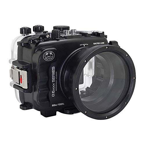 SALTED LINE 60M/195FT Waterproof housing for A6xxx Series (Black) for a6500 a6400 a6300 a6100 a6000