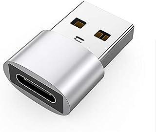 محولان بموصل ذكر بمنفذ USB 3.0 (USB-A) الى محول بموصل انثى بمنفذ USB 3.1 (نوع سي)