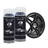 AutoFullCar Full Dip Pack 2 Spray Negro Mate FULLDIP -...