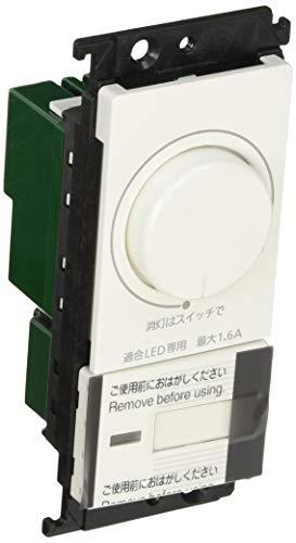 Panasonic コスモシリーズワイド21 LED埋込調光スイッチC(ほたるスイッチC)ホワイト WTC57521W