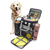 Ruff Dog Gear Dog Travel Bag All Accessories You Need For Travel | Incl 1x Pet...