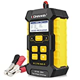 KONNWEI 3 in 1 Battery Charger, Car Battery Tester KW510 12V 5-Amp Fully Automatic Smart Charger Automotive Pulse Repair Maintainer, Trickle Charger Battery Desulfator w/Temp Compensation