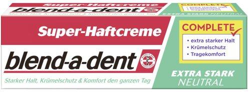 Blend-a-med Super-Haftcreme extra stark -neutral- 47g, 3er Pack (3 x 47 g)