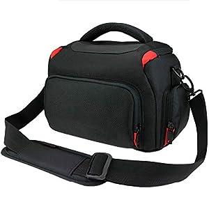 Khanka - Funda Impermeable para cámara réflex Digital Nikon D3400,D3300, D5600,D5500,D5300, D7500,D7200,D750,D850, Canon EOS 4000D, 2000D 1300D,800D,750D,77D 80D 7D 200D