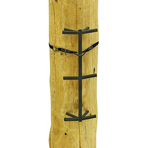 """Rivers Edge RE719, Big Foot Grip Stick (3-Pack) Tree Stand Climbing System, 32"""" Sections, Double Step Design, Permanent Non-Slip Coating"""