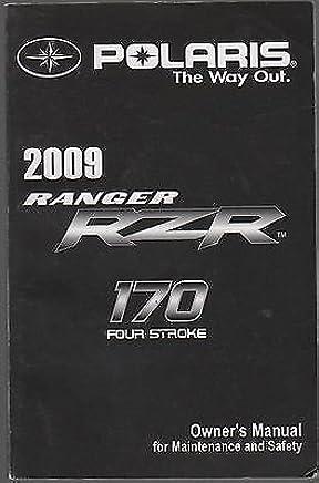 Amazon com: Polaris Rzr Parts Manual: Books