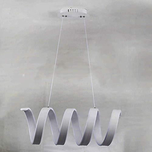 LQ Creativa hogar moderno LED for la sala dormitorio Comedor marco de habitaciones Círculo Blanco LED Lámparas 110V 220V candelabro