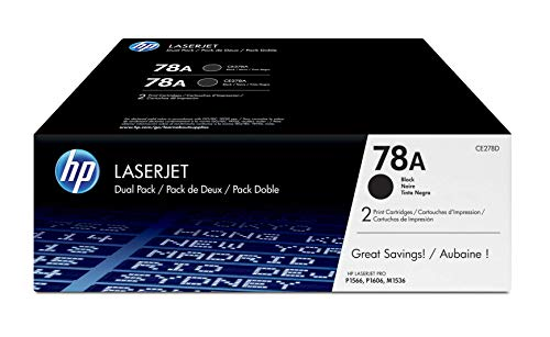 Price comparison product image HP 78A / CE278D / 2 Toner Cartridges / Black
