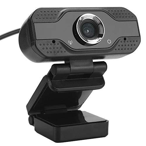 Archuu Cámara Web con micrófono, cámara PC 2MP 1080P HD, cámara Web USB Plug and Play Cámara USB Cámara Web portátil de Escritorio para grabación de videollamadas, reducción de Ruido Digital 3D