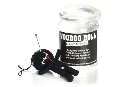 Voodoo Doll in Dose +++ LUSTIG von modern times +++ ARBEITSWELT - VOODOO-DOLL +++ I LOVE GIFTS