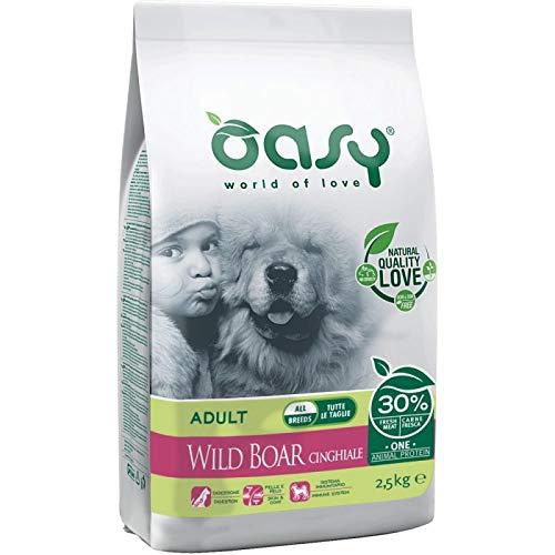Oasy Dry Dog OAP Adult Cinghiale monoproteico Cane Secco 205kg 8053017345673, Multicolore, Unica